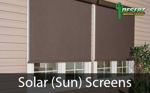 sun screens - solar screens - installation and repair - Phoenix - Scottsdale