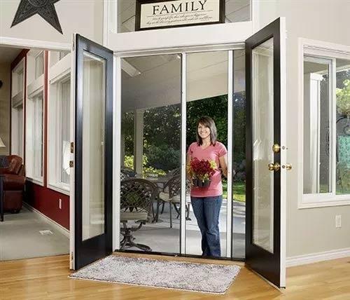 retractable door screen by Desert SunScreens