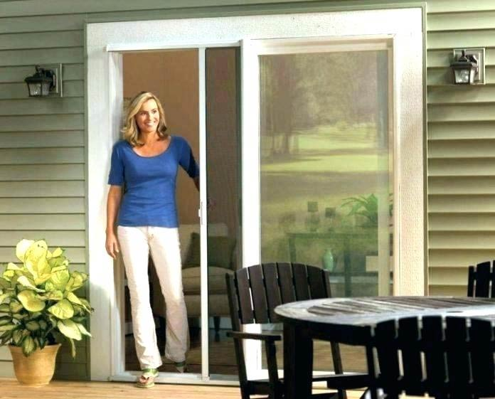 sliding screen door - installation & repair